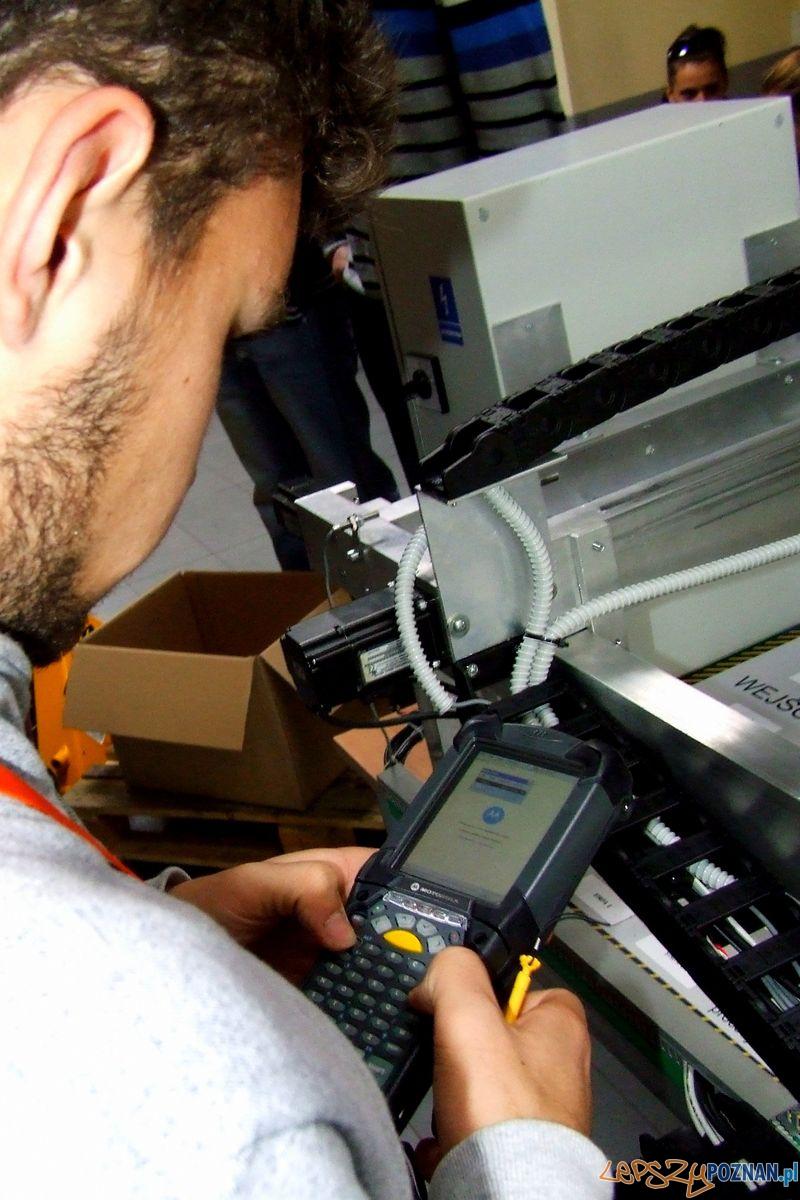 Laboratorium Technik Logistyk. Czytnik RFID.  Foto: Przemysław Kozakiewicz