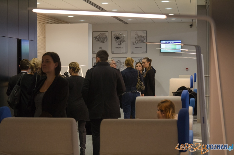 Otwarcie Salonu Business Executive Lounge na lotnisku Ławica  Foto: lepszyPOZNAN.pl / Piotr Rychter