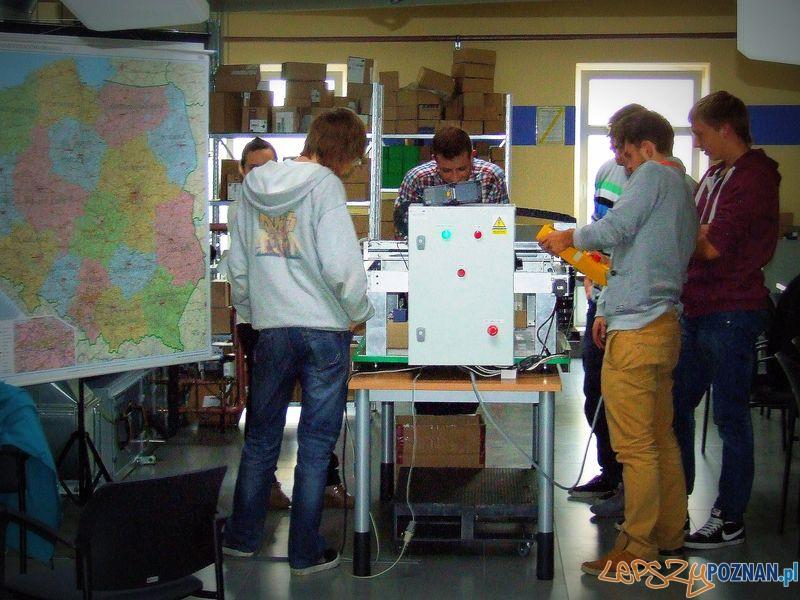 Laboratorium Technik Logistyk. Zajęcia.  Foto: Przemysław Kozakiewicz
