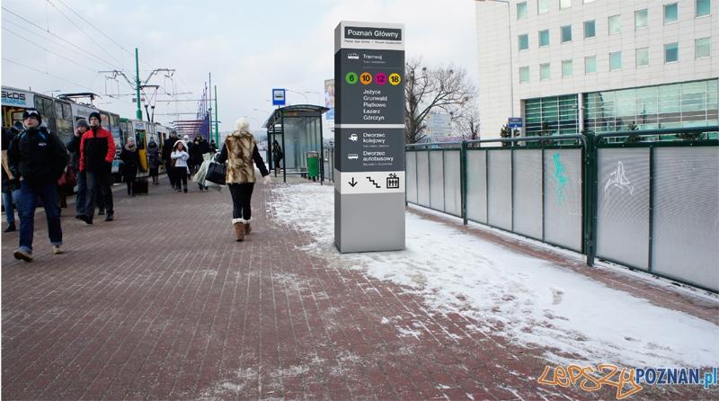 Dworzec Główny zamiast Zintegrowane Centrum Komunikacyjne  Foto: UMP