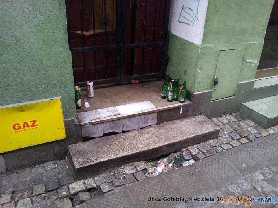 Ulica Gołębia  Foto: facebook / Ulica Wrocławska - Poznań