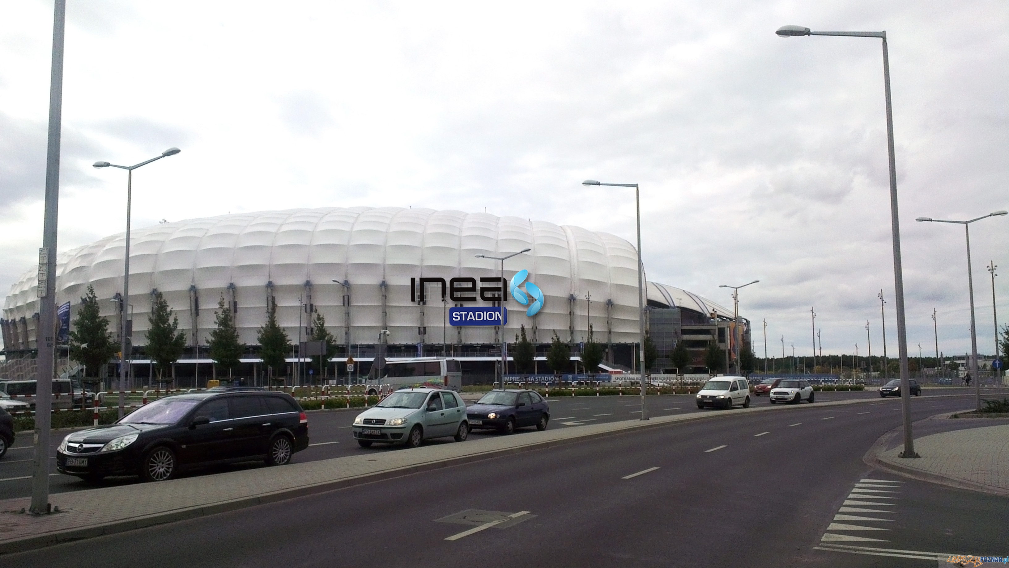 INEA Stadion po rebrandingu (wizualizacja)  Foto: INEA