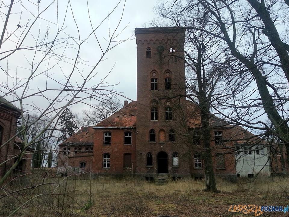 Budynki psychoatryka w Owińskach  Foto: Adam Foetke/psychiatryk owińska/facebook