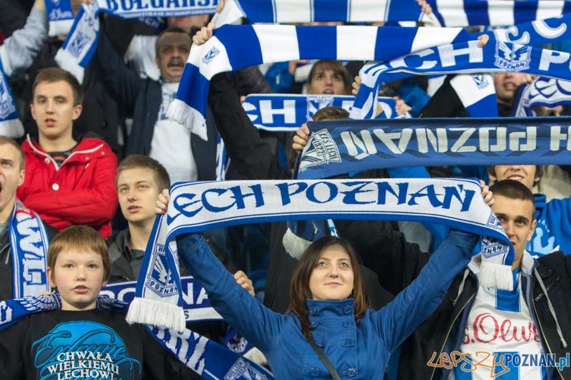 27. kolejka T-Mobile Ekstraklasy - Lech Poznań - Lechia Gdańsk (najlepsi kibice na świecie)  Foto: lepszyPOZNAN.pl / Piotr Rychter
