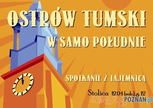 Ostrów Tumski w samo południe  Foto: