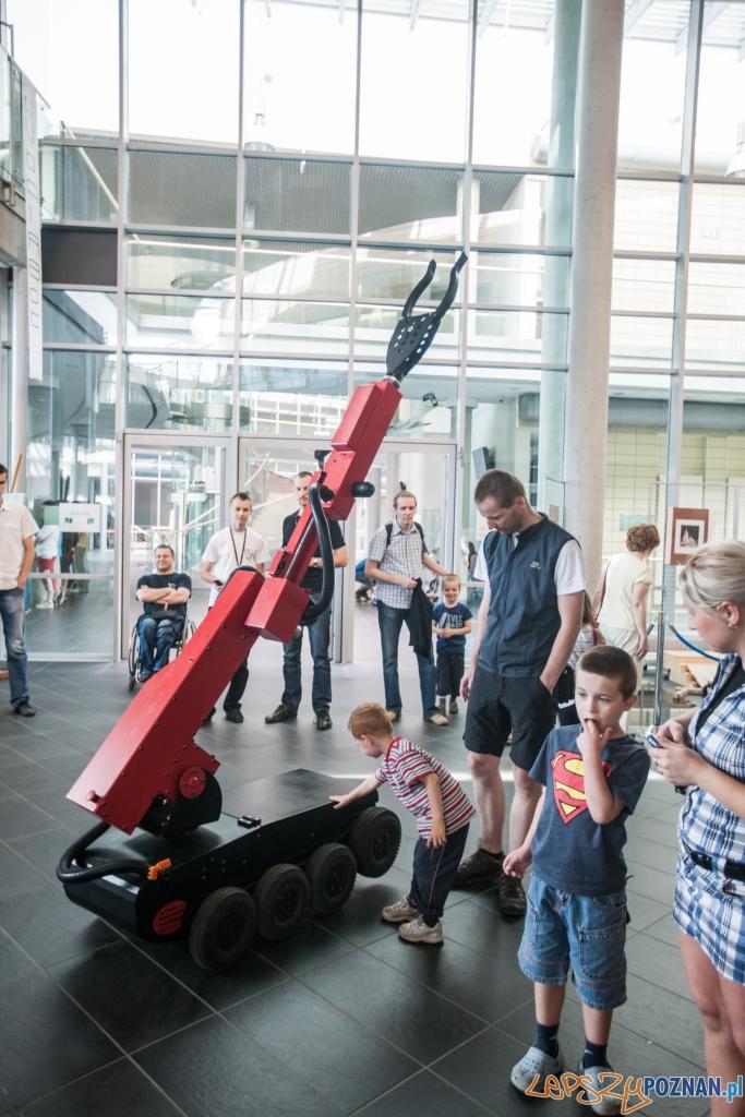 Roboty na Politechnice Poznańskiej  Foto: Mały Inżynier