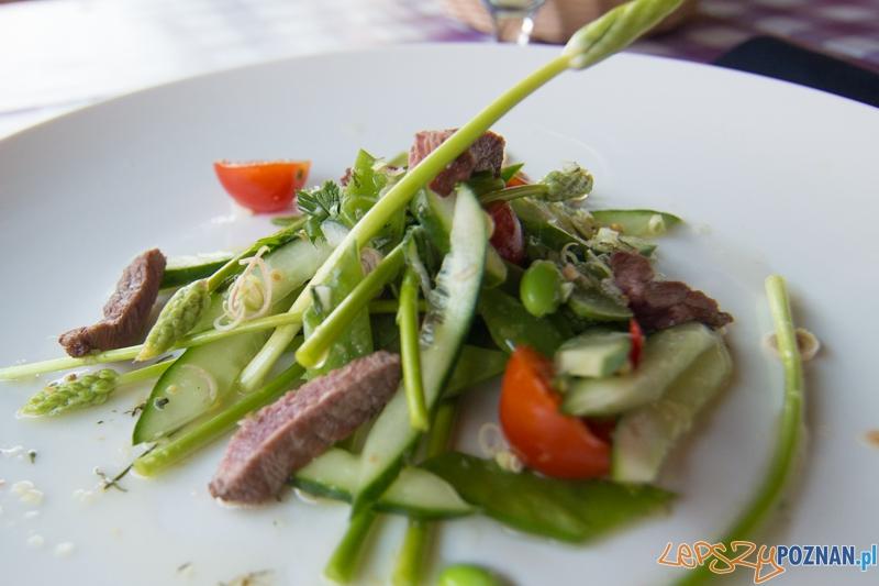 Restauracja Cucina - Yum Yum salad (porcja degustacyjna) Foto: lepszyPOZNAN.pl / Piotr Rychter