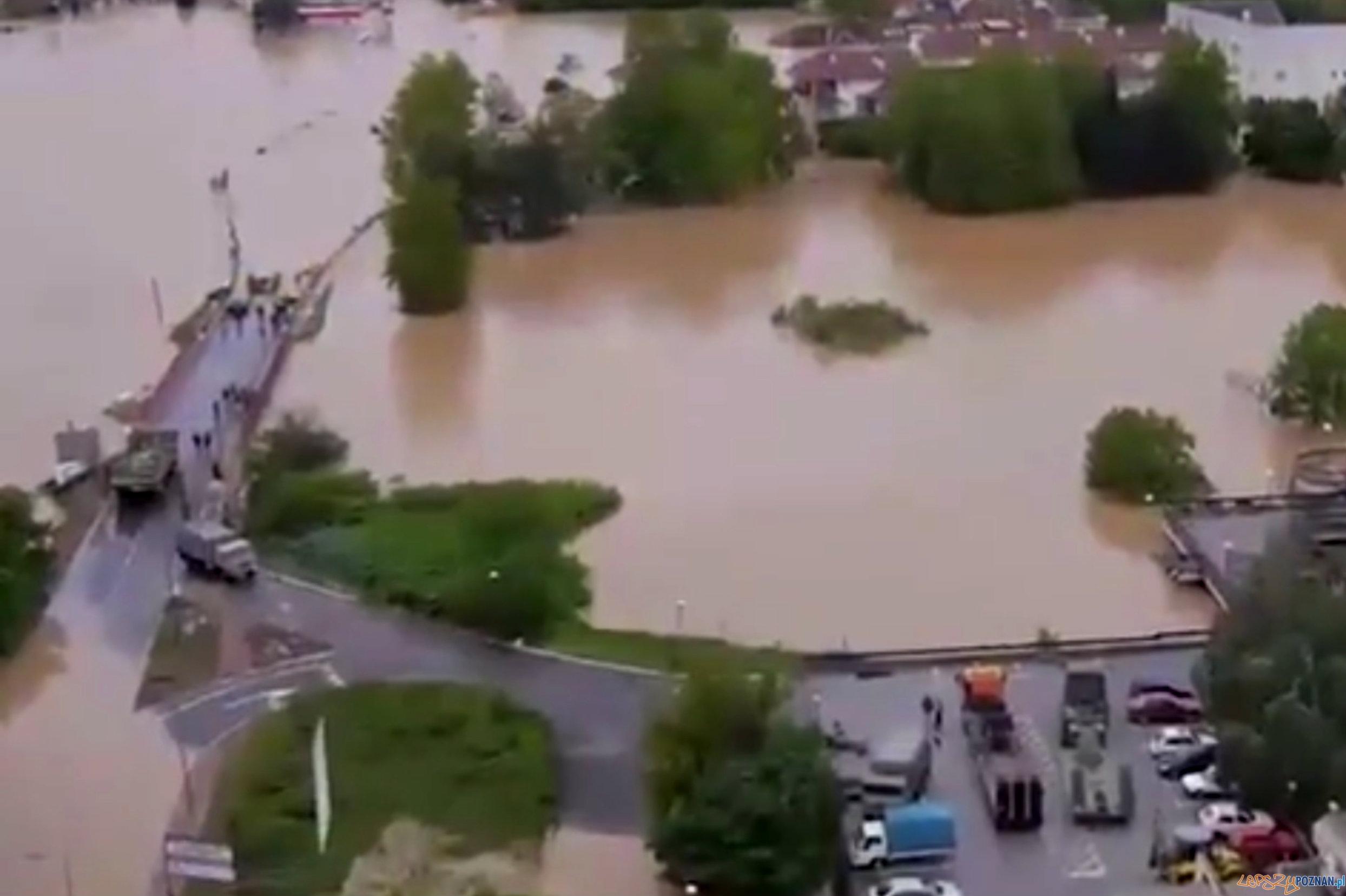 Kolejorz na ratunek Serbii i Bośni  Foto: Kolejorz na ratunek Serbii i Bośni