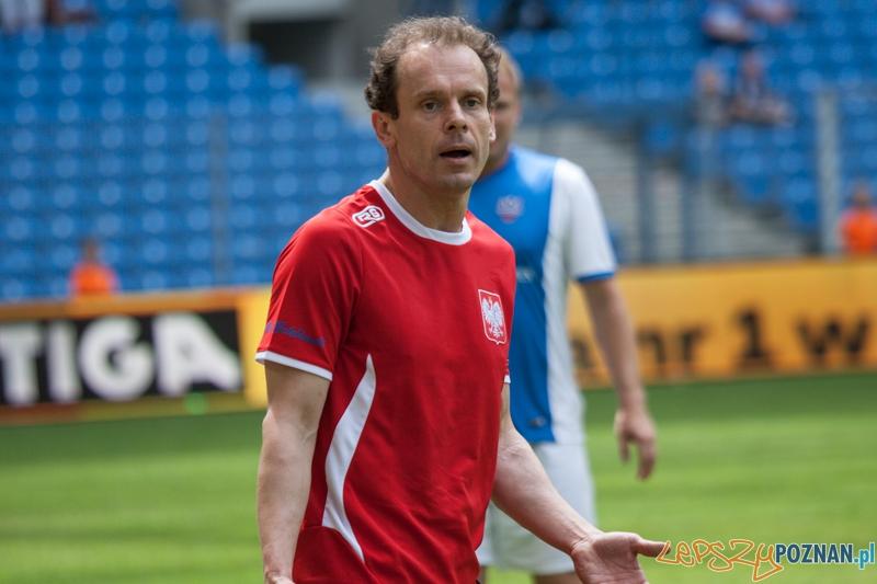 Tomasz Schimscheiner - Benefis Piotra Reissa (28.06.2014) Inea Stadion  Foto: © lepszyPOZNAN.pl / Karolina Kiraga