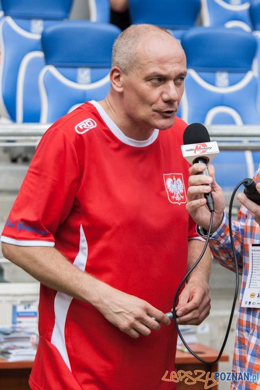 Piotr Zelt - Benefis Piotra Reissa (28.06.2014) Inea Stadion  Foto: © lepszyPOZNAN.pl / Karolina Kiraga