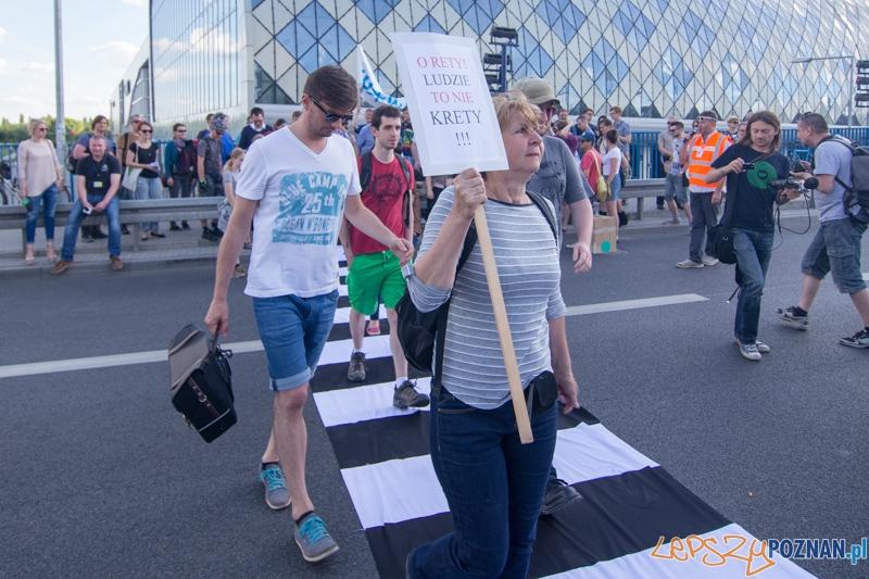 Uwolnić Zebrę  Foto: lepszyPOZNAN.pl / Piotr Rychter