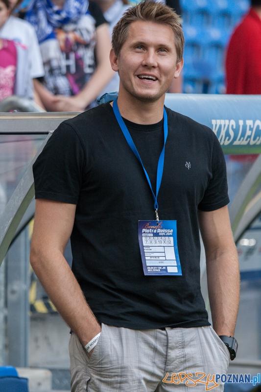 Tomasz Kuszczak - Benefis Piotra Reissa (28.06.2014) Inea Stadion  Foto: © lepszyPOZNAN.pl / Karolina Kiraga
