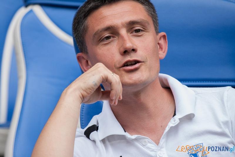Mariusz Rumak - Benefis Piotra Reissa (28.06.2014) Inea Stadion  Foto: © lepszyPOZNAN.pl / Karolina Kiraga