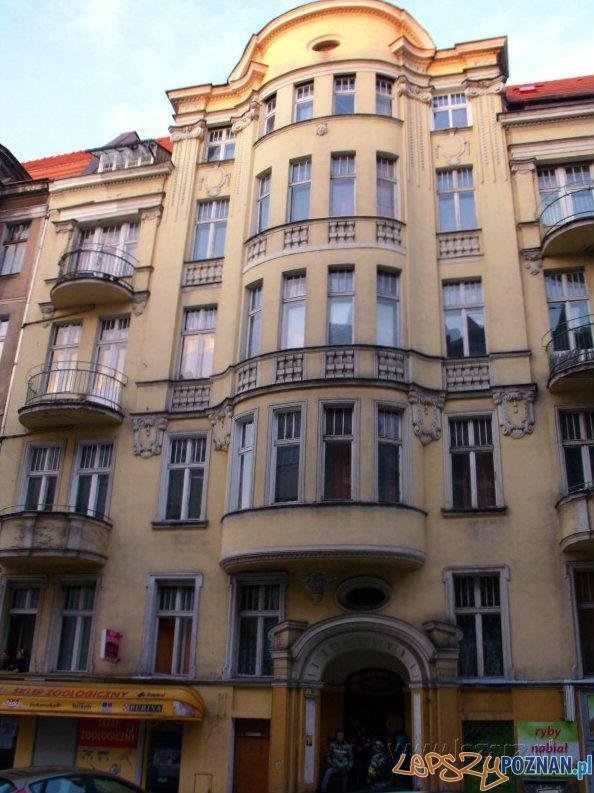 Kamienica przy ul. Niegolewskich 14  Foto: lazarz.pl / Janusz Ludwiczak