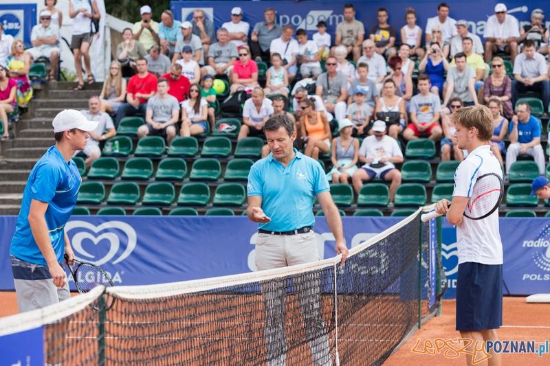 Poznan Open 2014 - David Goffin vs Adam Pavlasek  Foto: lepszyPOZNAN.pl / Piotr Rychter