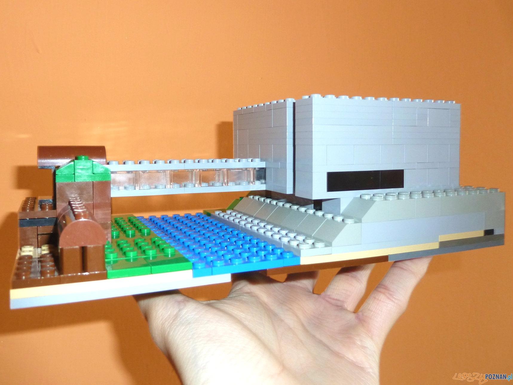 Brama Poznania z klocków LEGO  Foto: Mateusz Wawrowski