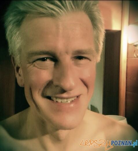 Ryszard Grobelny bez wąsa  Foto: Twitter