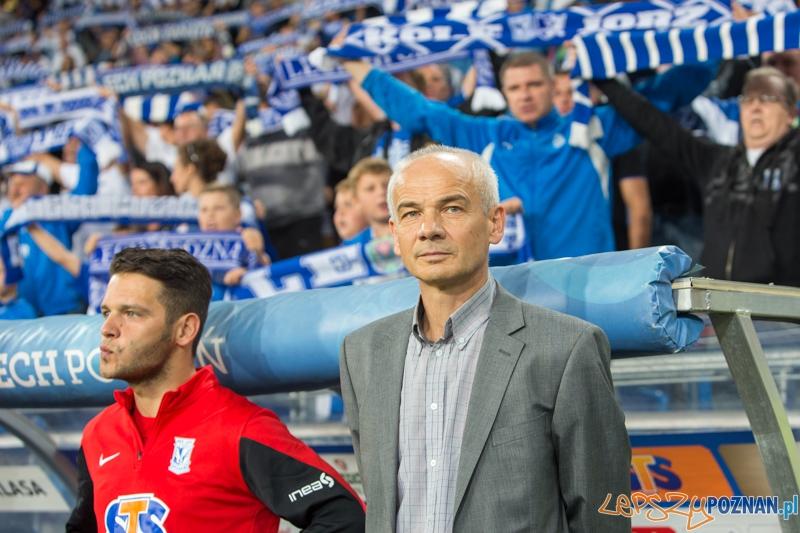 5. kolejka T-Mobile Ekstraklasy - trener Lecha Poznań Krzysztof Chrobak  Foto: lepszyPOZNAN.pl / Piotr Rychter