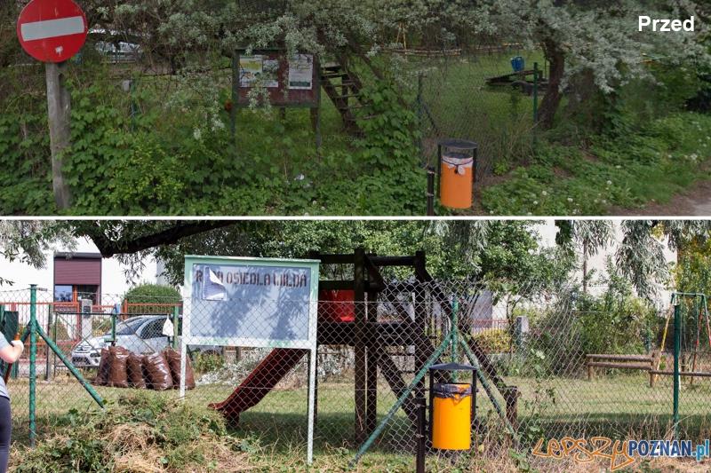 Przed i po  Foto: Googl street view / lepszyPOZNAN.pl / Piotr Rychter