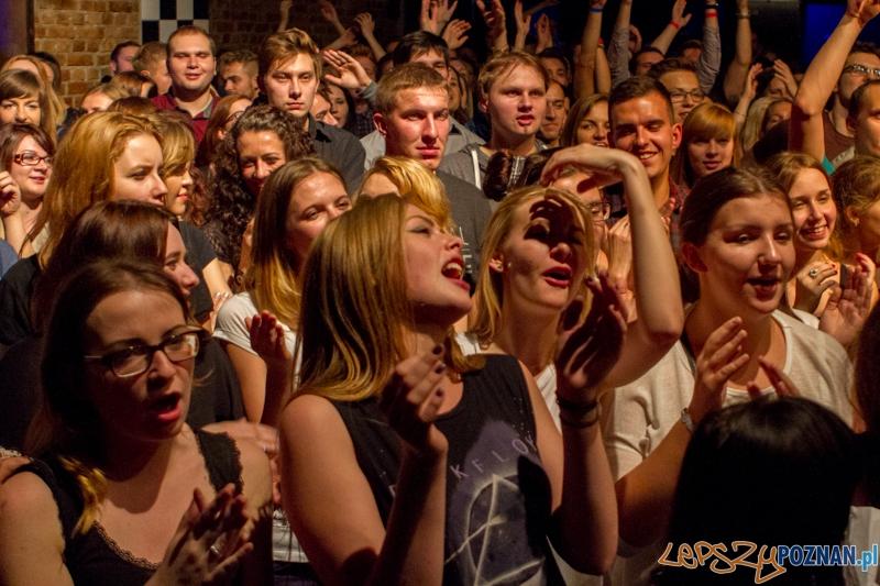 10 lat zespołu Muchy - Poznań 10.10.2014 r.  Foto: LepszyPOZNAN.pl / Paweł Rychter