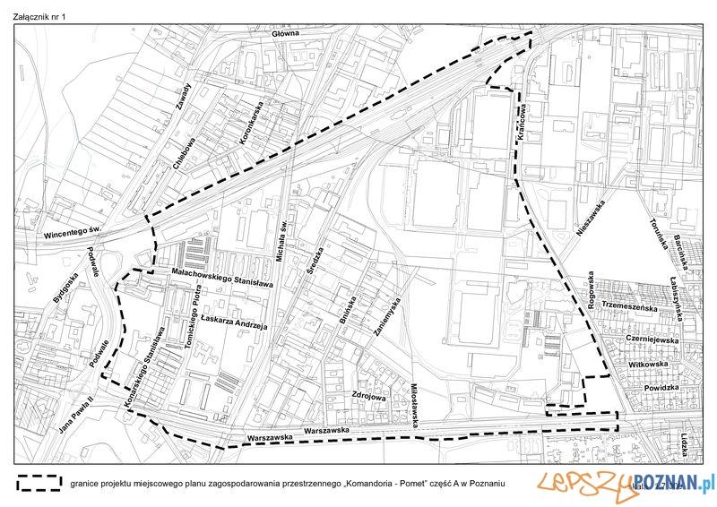 Granice planu_Komandoria  Foto: UMP