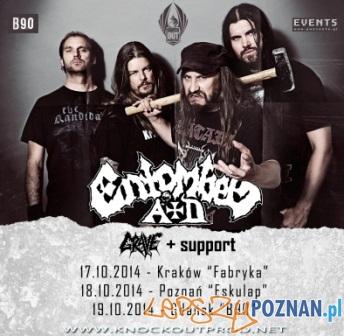 Entombed AD i Grave na koncertach w Polsce  Foto: mat. pras