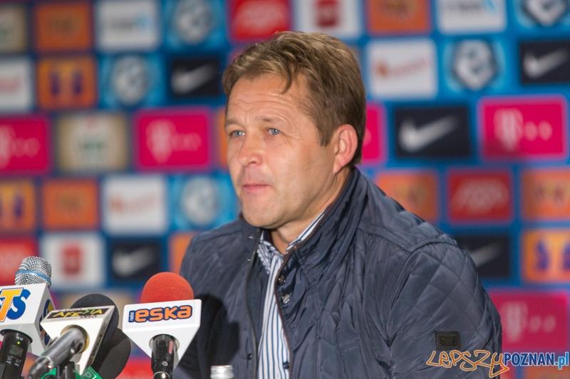 Trener Górnika Łęczna - Jurij Szatałow  Foto: lepszyPOZNAN.pl / Piotr Rychter