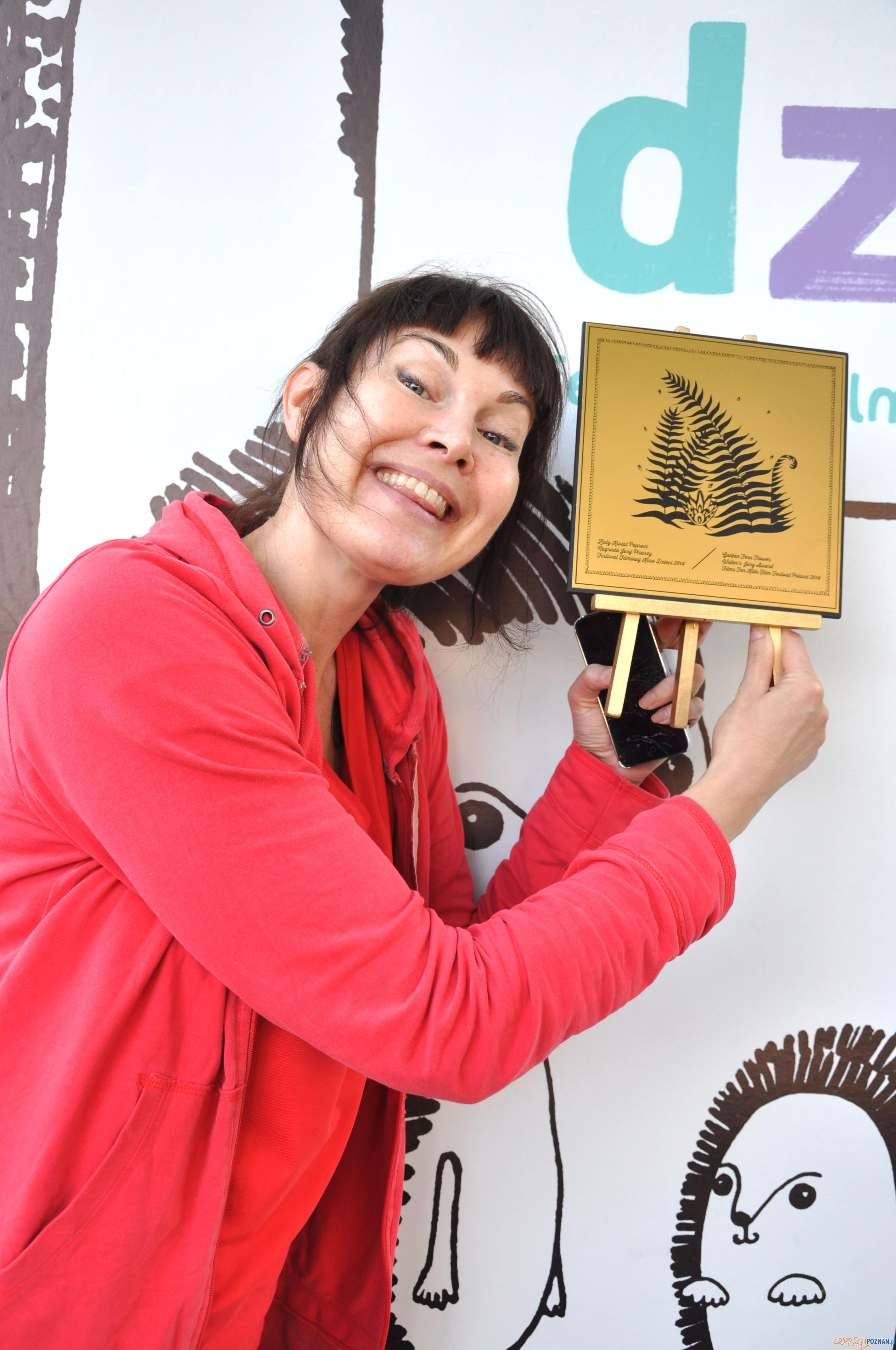 Katarina Launing  reżyserka filmu Mecz życia, nagroda pisarzy Festiwalu Kino Dzieci  Foto: Materiały prasowe