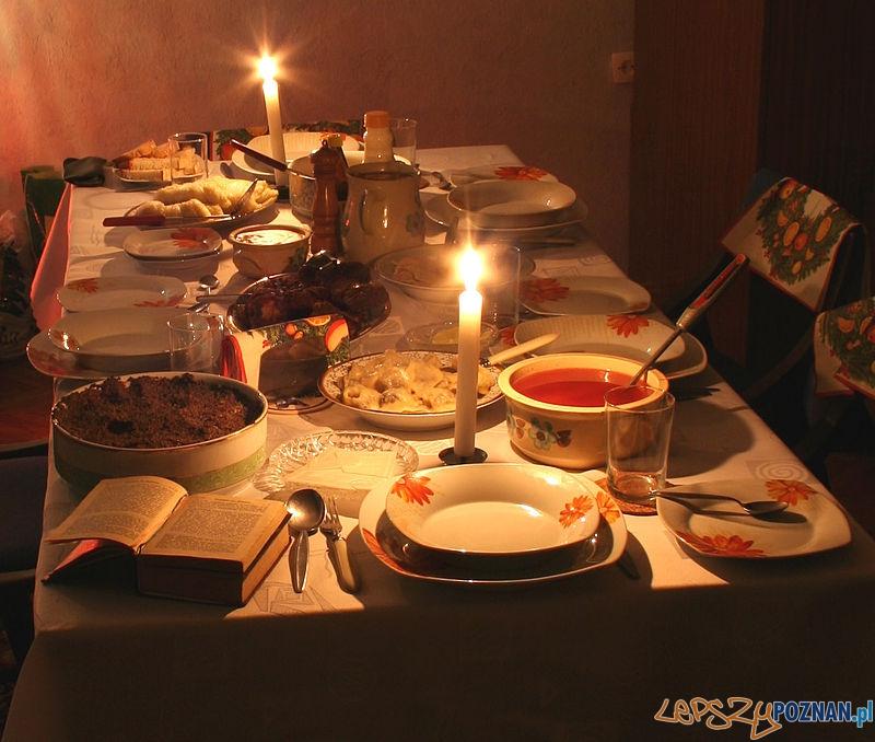 Wigilia stół  Foto: wikipedia