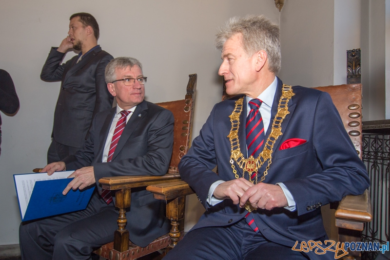 Uroczysta sesja Rady Miasta Poznania - zaprzysiężenie Prezydenta Jaśkowiaka  Foto: lepszyPOZNAN.pl / Piotr Rychter