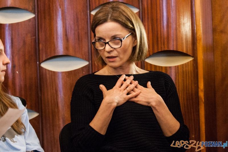 Małgorzata Foremniak - warsztaty z dziećmi (2.12.2014) CK Zamek  Foto: © LepszyPOZNAN.pl / Karolina Kiraga
