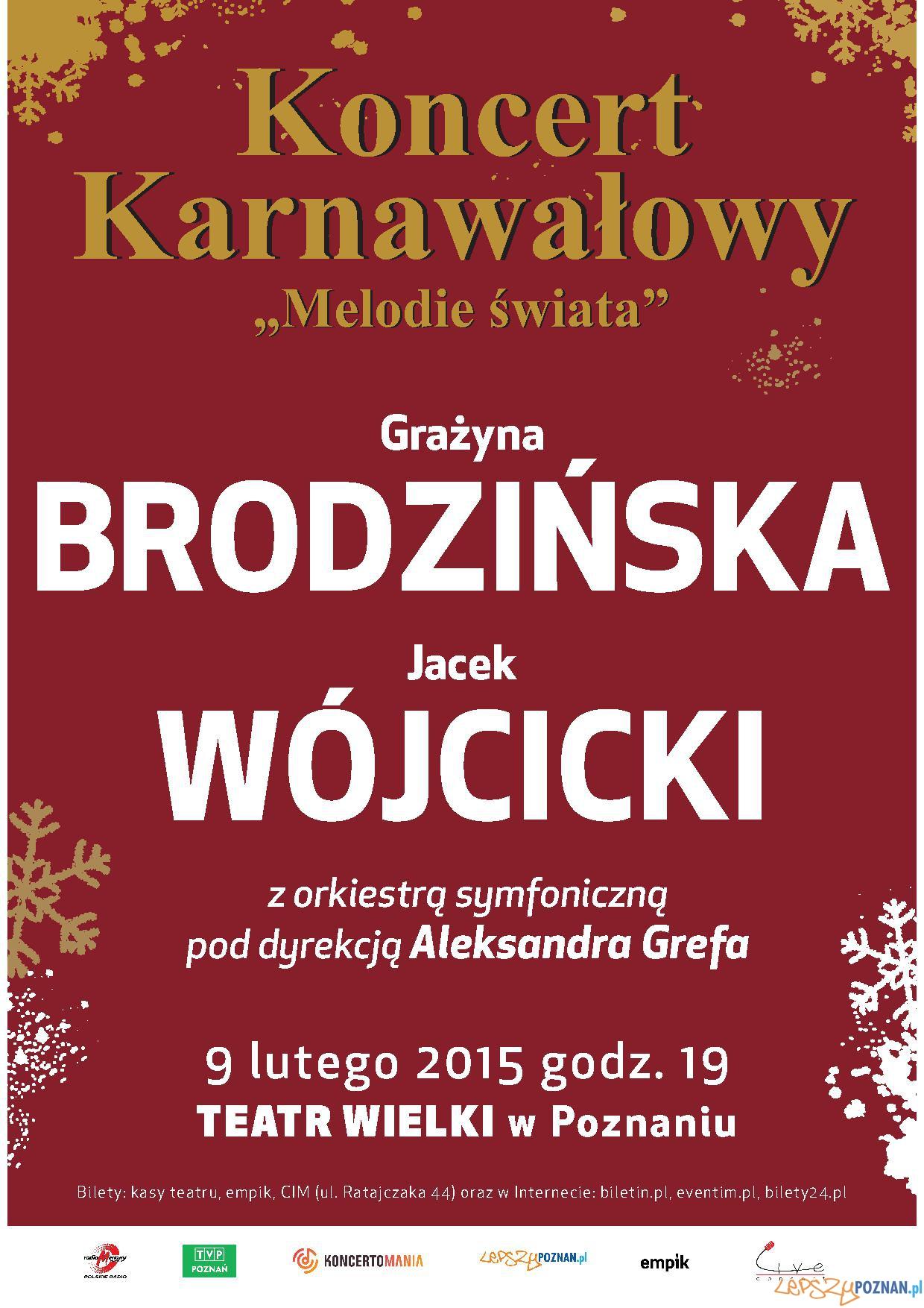 """Plakat """"Melodie świata""""  Foto: mat. prasowe"""