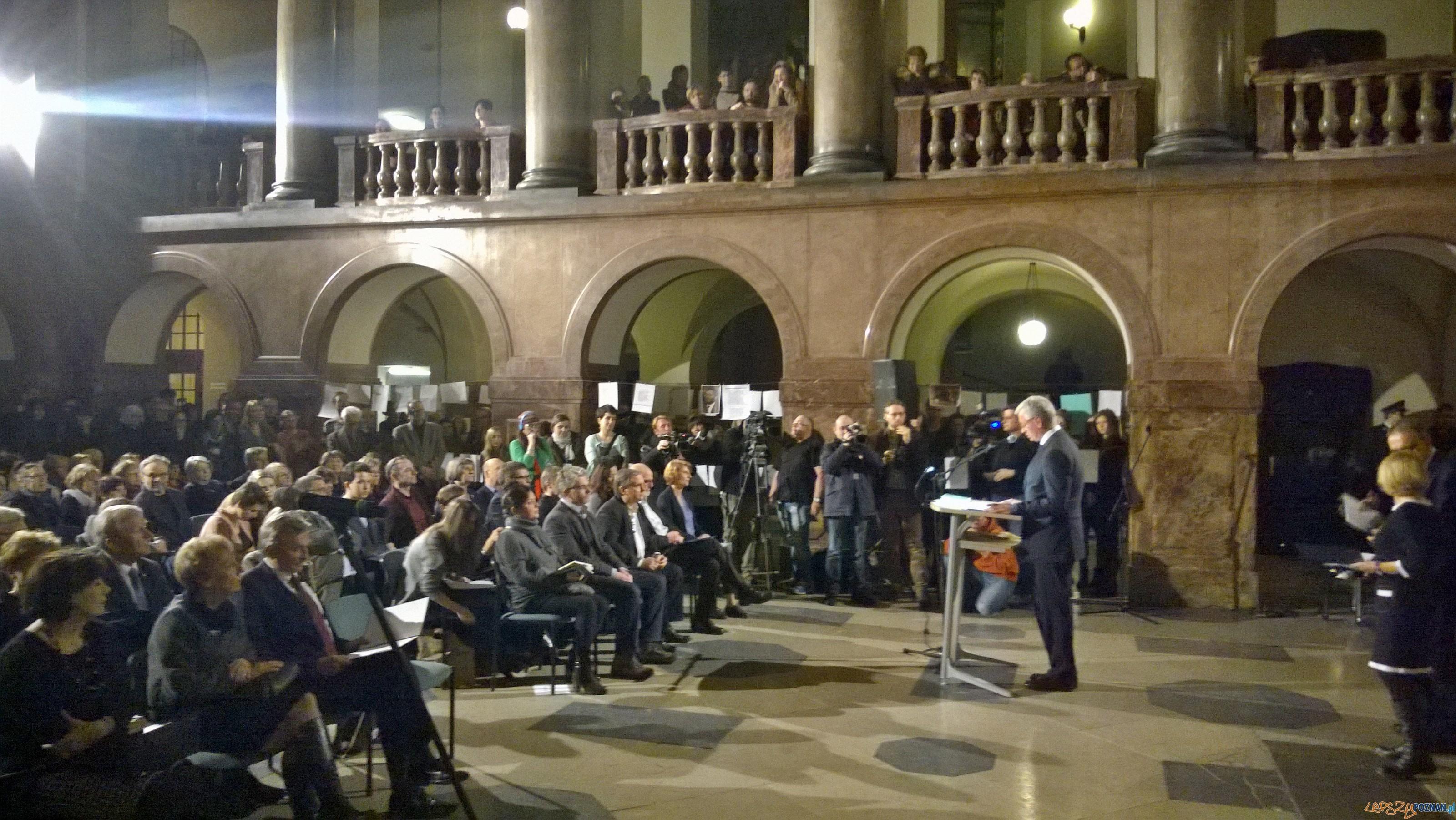 Wieczór Barańczaka w Collegium Novum  Foto: