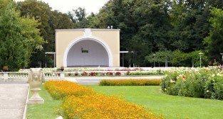 Muszla w Parku Wilsona  Foto: Wirtualny Łazarz