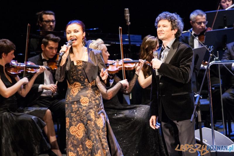 Grażyna Brodzińska i Jacek Wójcicki - Melodie świata (9.02.2015) Teatr Wielki  Foto: © LepszyPOZNAN.pl / Karolina Kiraga