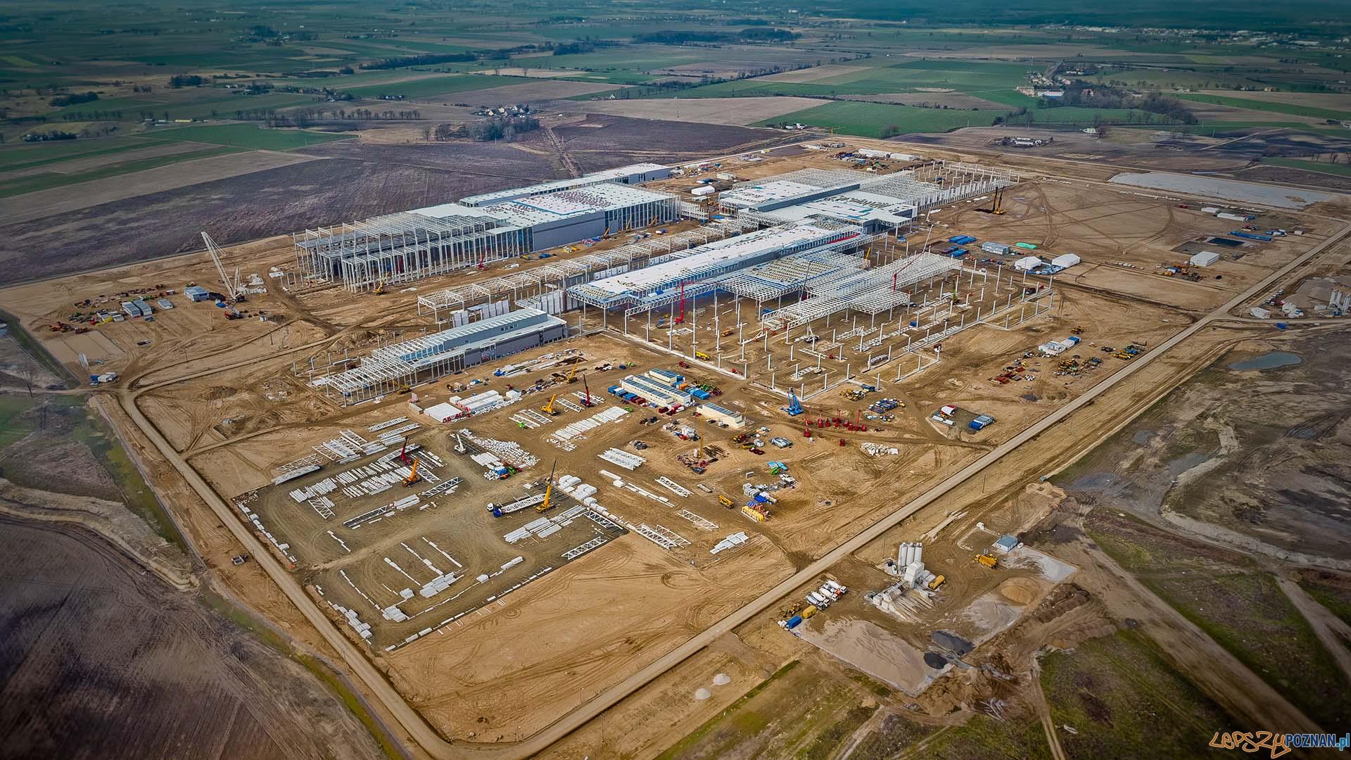 Budiowa fabryki Volkswagena pod Wrześnią (3)  Foto: