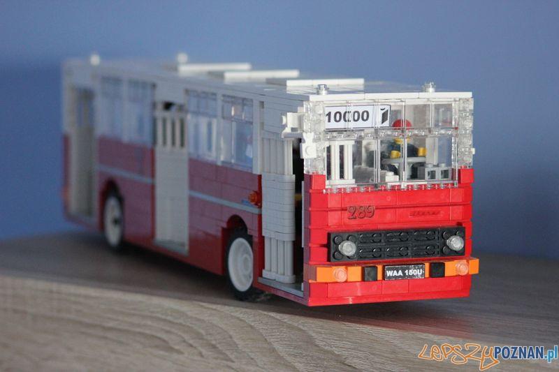 Ikarus 260.04 z klocków Lego  Foto: Mateusz Wawrowski