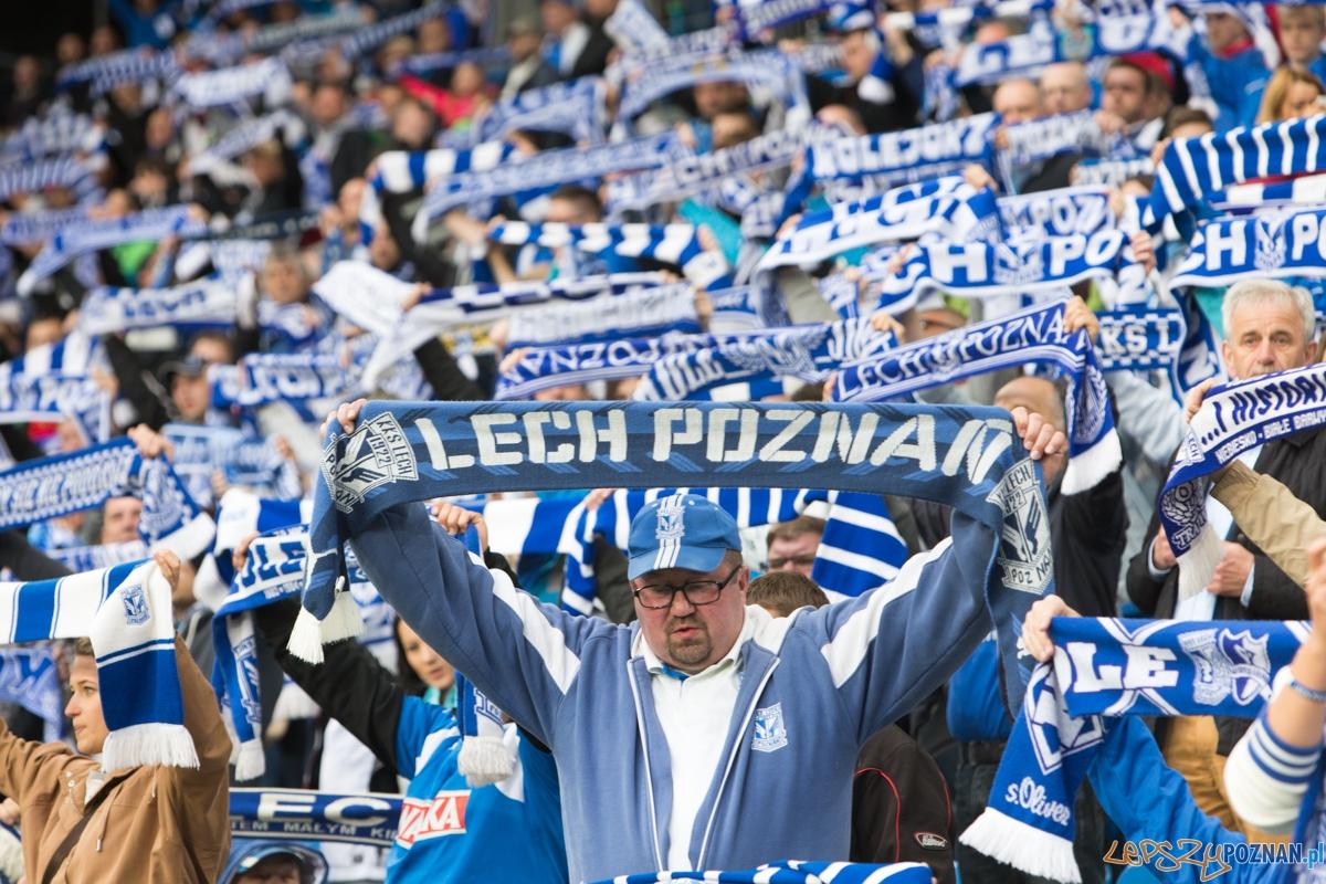 32. kolejka T-Mobile Ekstraklasy - Lech Poznań - Jagiellonia Białystok (najlepsi kibice na świecie)  Foto: lepszyPOZNAN.pl / Piotr Rychter