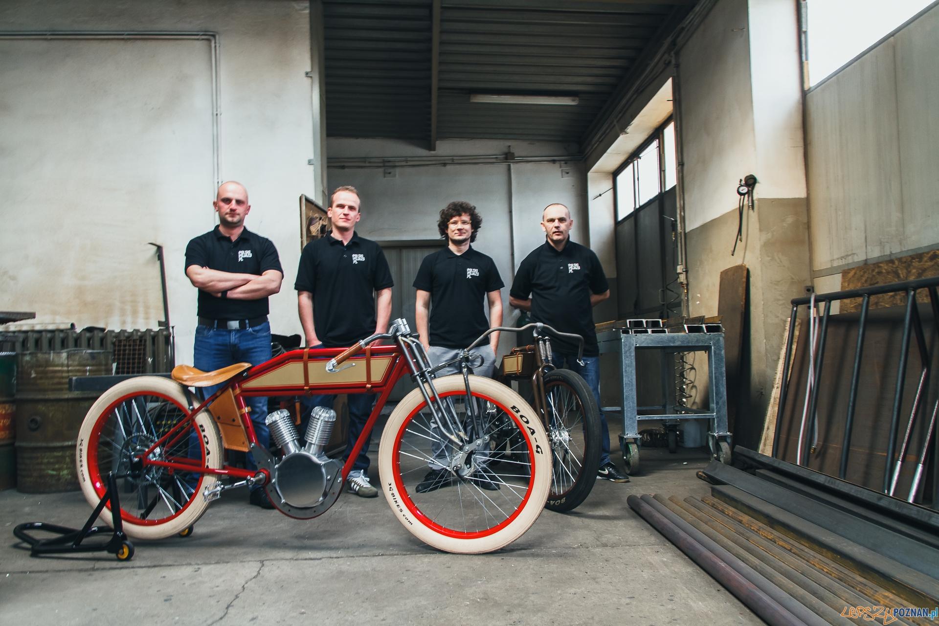 Retro rower z silnikiem - jest plan jego produkcji pod Poznananiem  Foto: cuore.pl