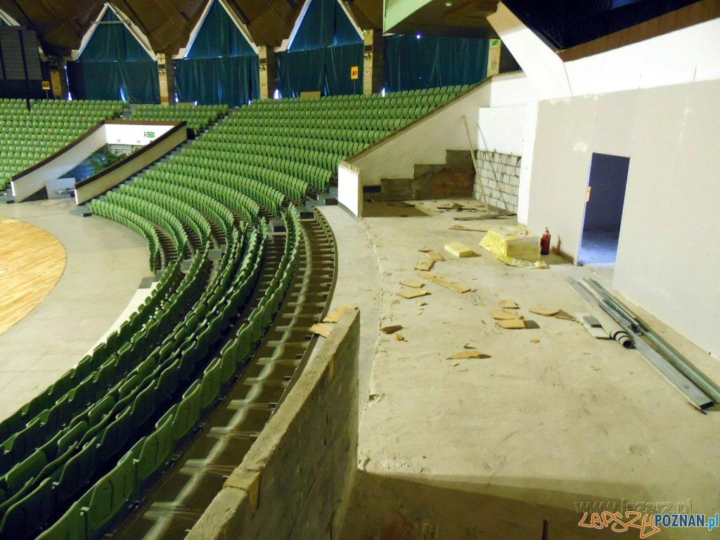 Arena w remoncie  Foto: lazarz.pl / Janusz Ludwiczak