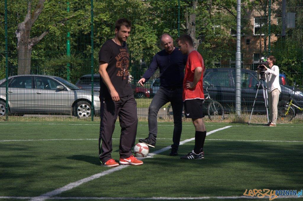 Mecz w Ogródku Jordanowskim (3)  Foto: Andrzej Deja