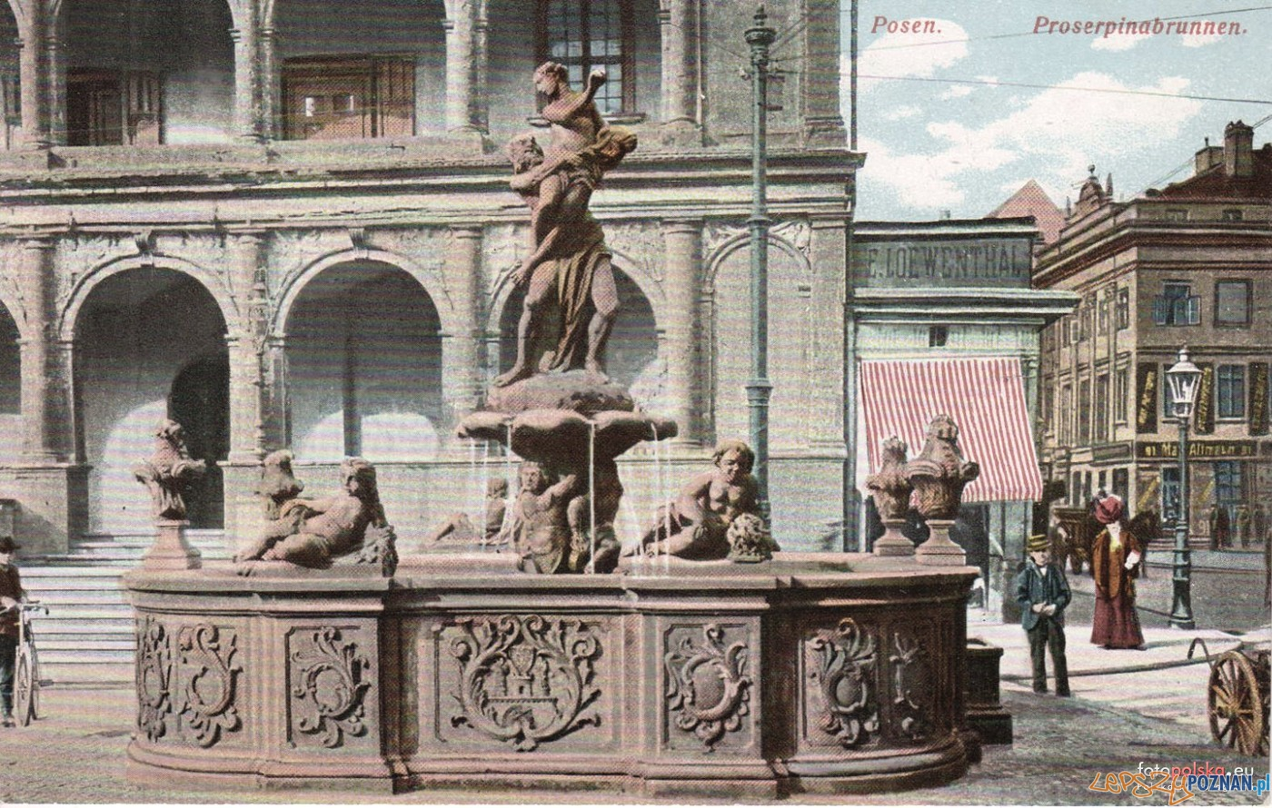 Fontanna Prozerpiny 1905-15  Foto: fotopolska