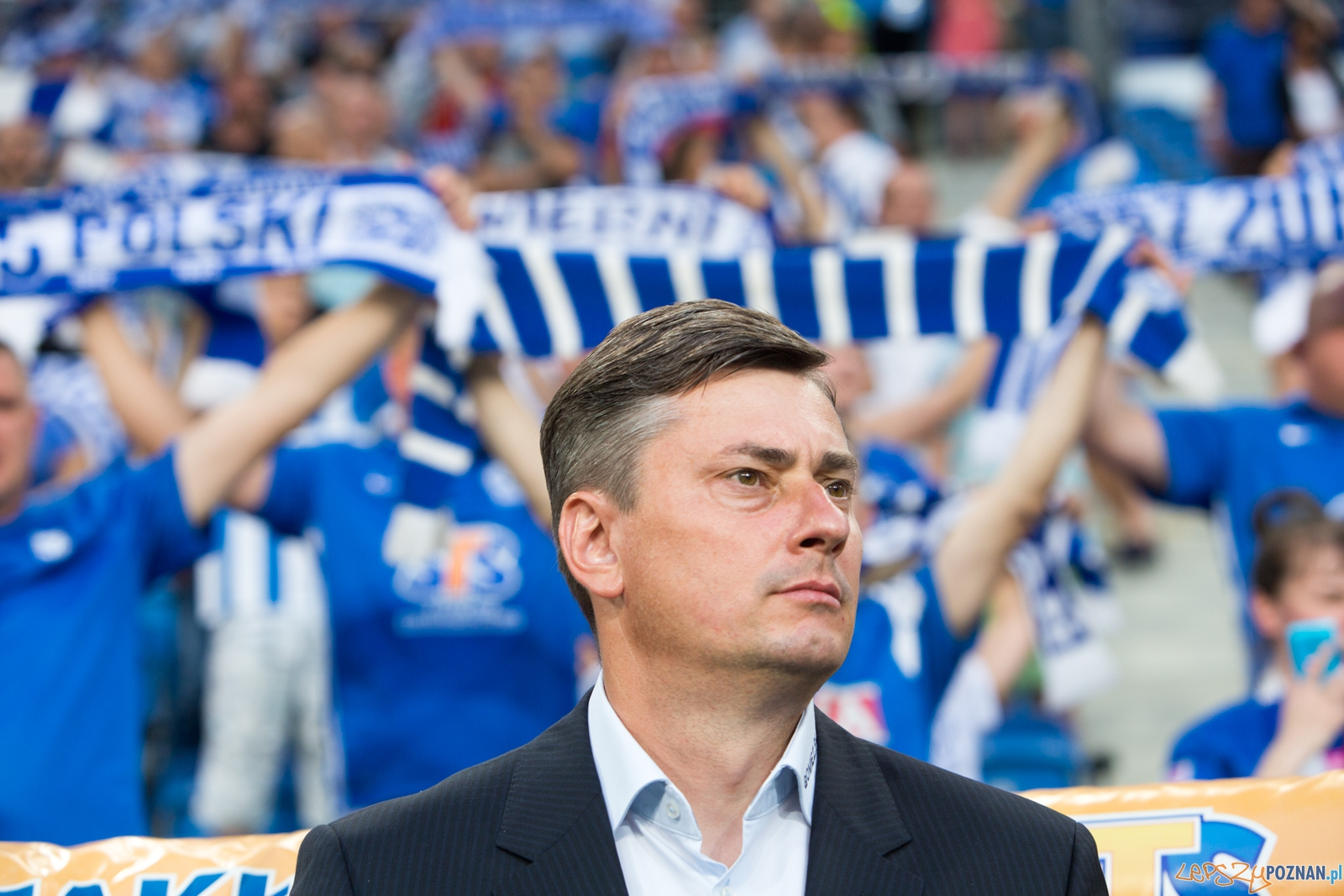 1. kolejka T-Mobile Ekstraklasy - trener Kolejorza Maciej Skorż  Foto: lepszyPOZNAN.pl / Piotr Rychter