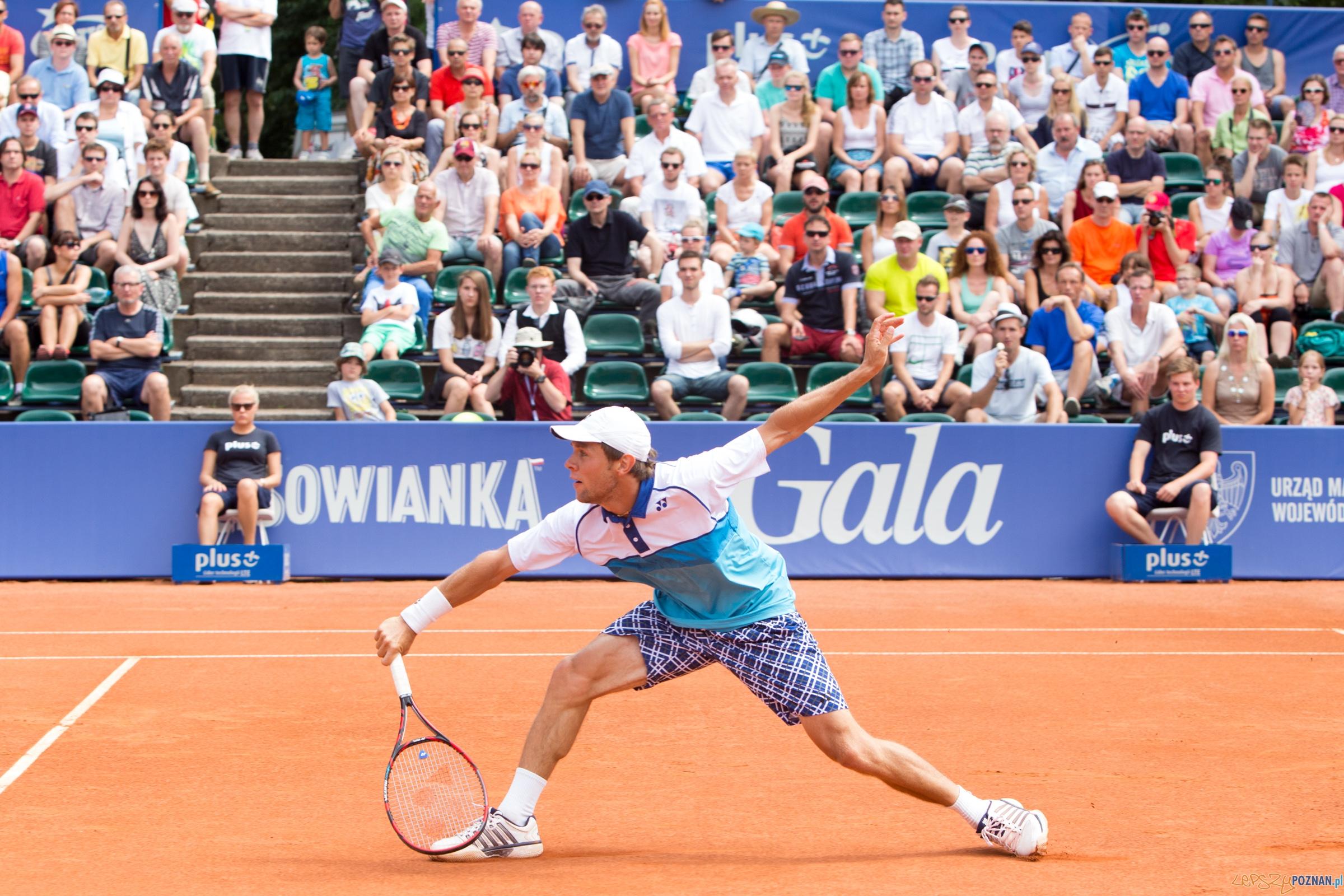 Poznan Open 2015 - Pablo Carreno Busta vs Radu Albot  Foto: lepszyPOZNAN.pl / Piotr Rychter