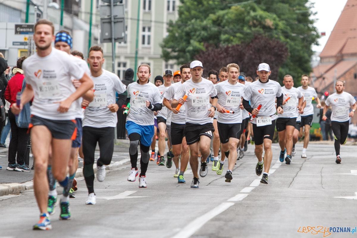 Poznań Business Run 2015 - 06.09.2015 r.  Foto: LepszyPOZNAN.pl / Paweł Rychter