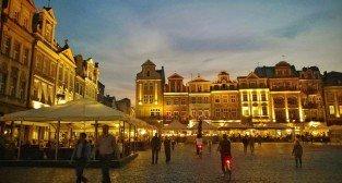 Stary Rynek wieczorem  Foto: TD