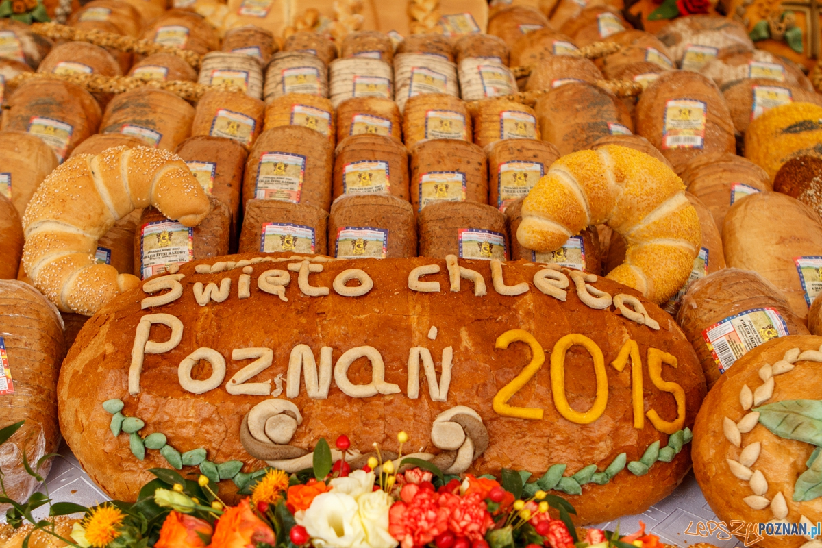 Święto Chleba 2015 - Poznań 05.09.2015 r.  Foto: LepszyPOZNAN.pl / Paweł Rychter
