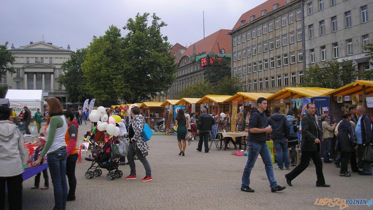 Dzień Organizacji pozarządowych na Placu Wolności  Foto: UMP