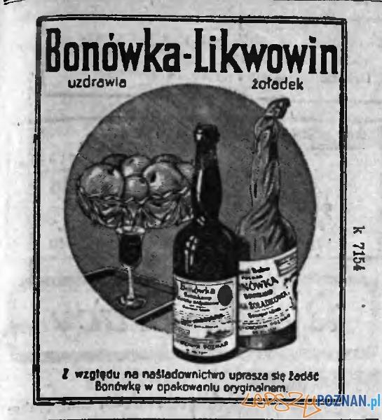 Bonówka - etykieta  Foto: likwowin.pl