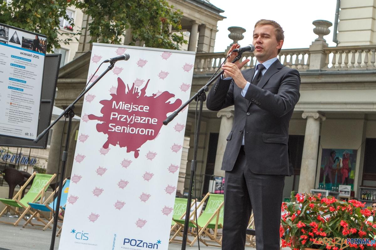 Senioralni 2015 - Plac Wolności - Poznań 26.09.2015 r.  Foto: LepszyPOZNAN.pl / Paweł Rychter